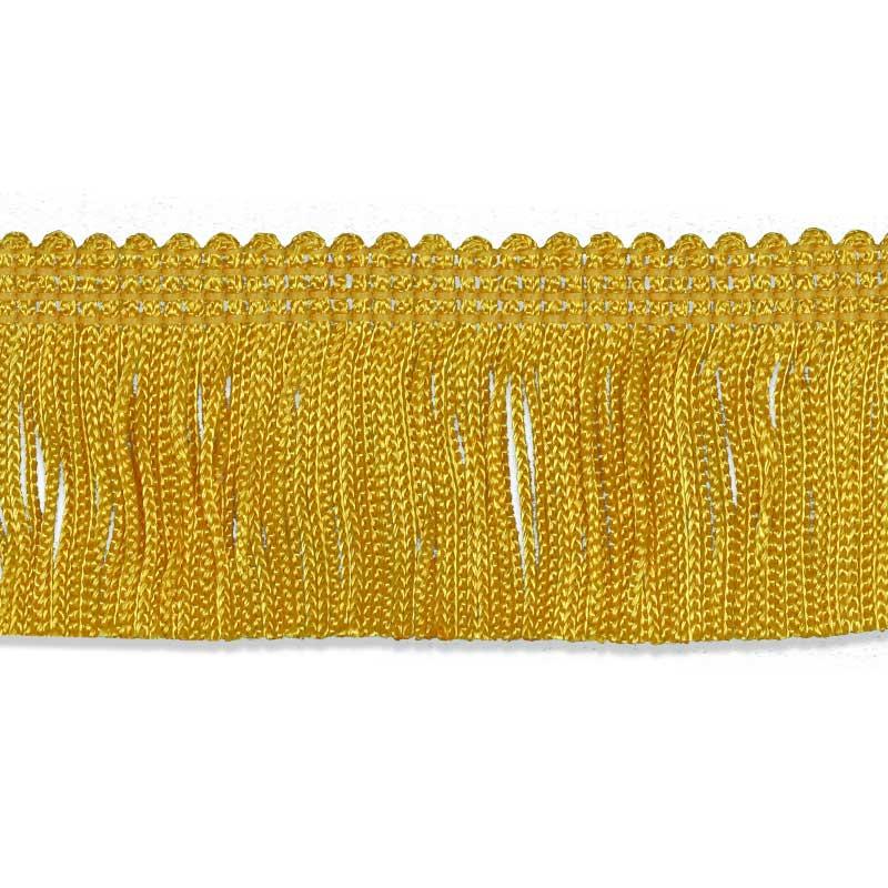 gold fringed flag