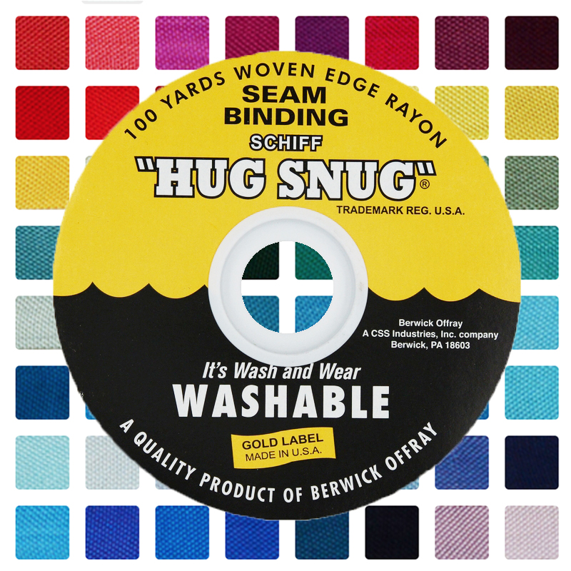 1/2 Inch Schiff Hug Snug Seam Binding